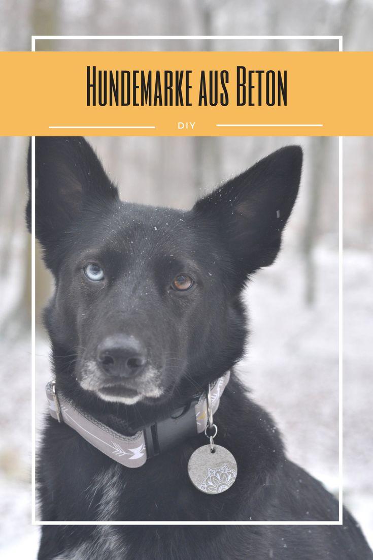 Wie ihr ganz einfach aus Schmuckbeton eine ganz besondere Hundemarke zaubern könnt, zeige ich euch auf meinem Blog!