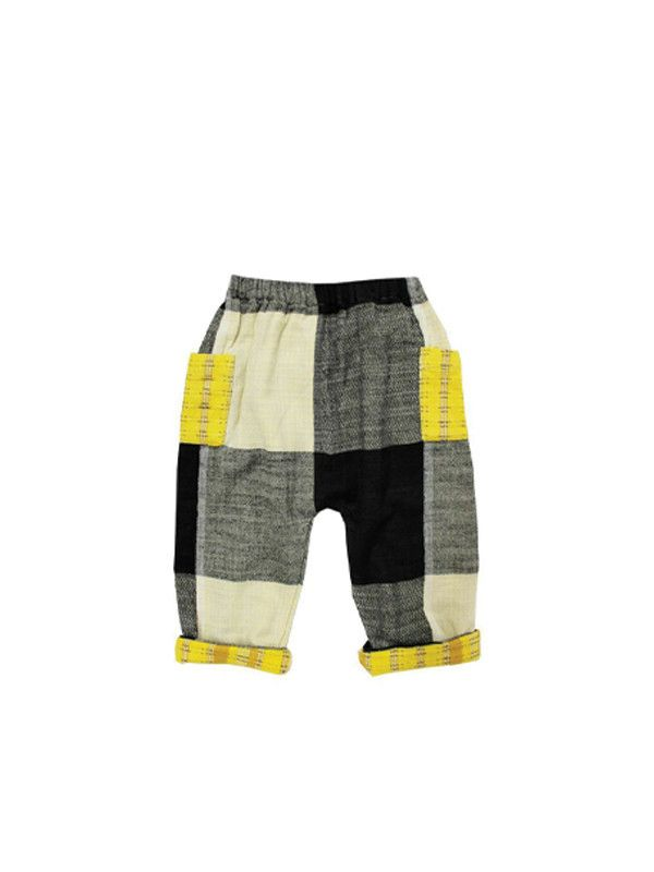 mini pant | domino with donegal
