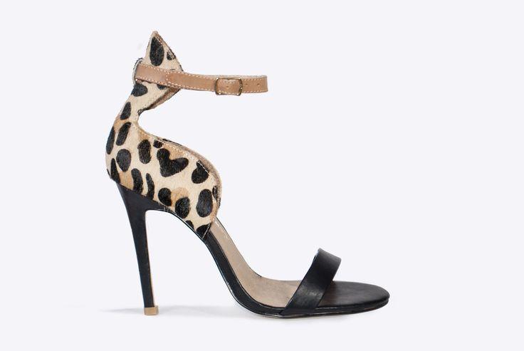 Dept. Of Finery - Lolita Heel Leopard Multi