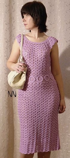 vestido hecho a ganchillo crochet dress