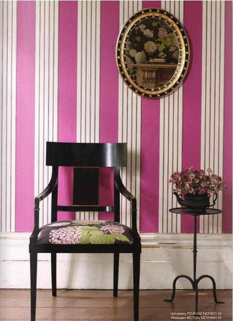 Montacute house wallcovering by NIna Campbell