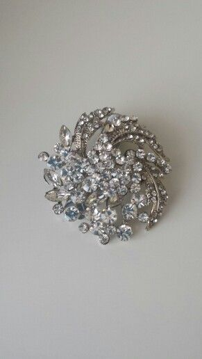 Hair brooch I had made