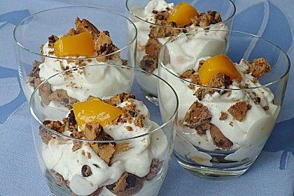 Eins meiner Nachtisch-Lieblinge: American Cookiescreme. Schmeckt auch mit anderen Früchten! (Rezept mit Bild) von papalama   Chefkoch.de
