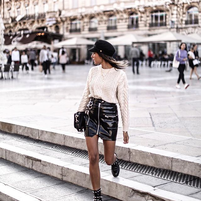 Weekend Look ♥ Pull à perles trop canon by @NewlookFR REF 541464313 (pris en S, lien dans ma bio) #ootd #thisisnewlook #outfit #ad #tenuedujour #saturday