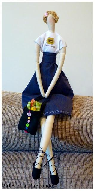 Tecidos e tecidinhos: Bonecas Tilda
