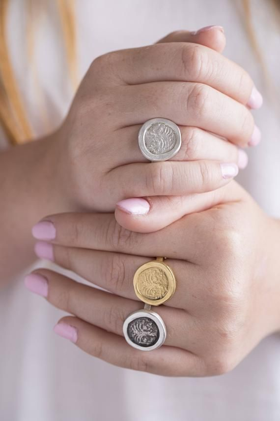 Free Shipping Women/'s Rings ring Women coin ring Women ring coin Rings Womens Rings Ring for Women Womens coin ring Silver ring