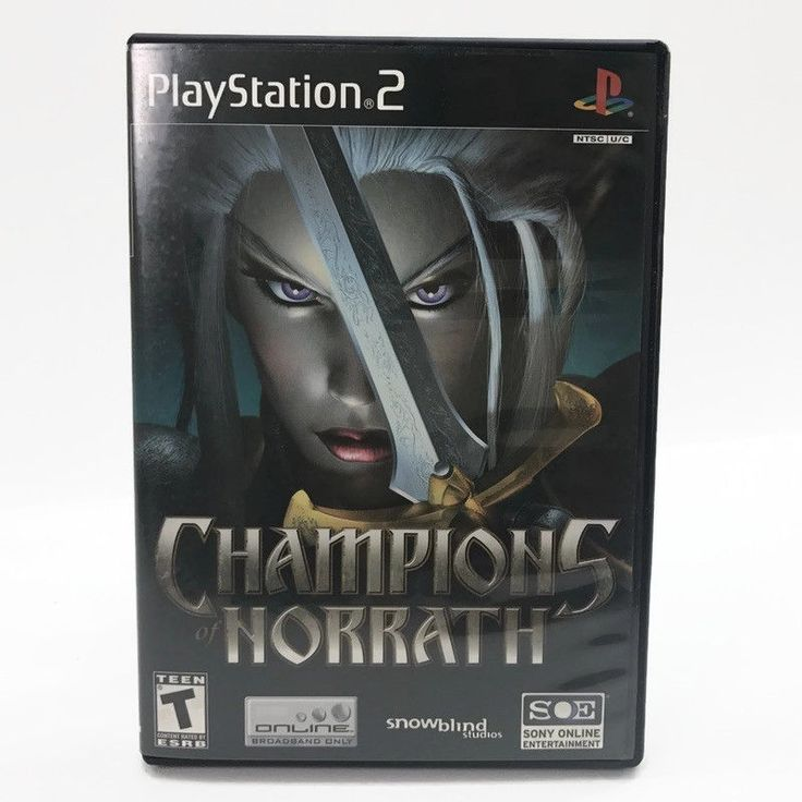 Champions of Norrath: Realms of EverQuest (Sony PlayStation 2, 2004) Complete #SnowblindStudios