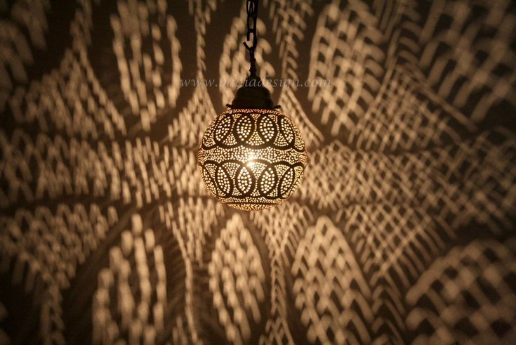 Hand Punched Brass Lantern - LIG259, $295.00 (http://www.badiadesign.com/moroccan-brass-lantern-lig259/), Pendant light, brass pendant light, Moroccan brass lantern, hand punched brass lantern, Moroccan lighting, Moroccan party lighting
