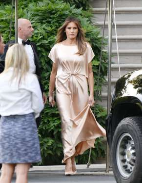 Melania Trump - Olivier Douliery-Pool/Getty Images