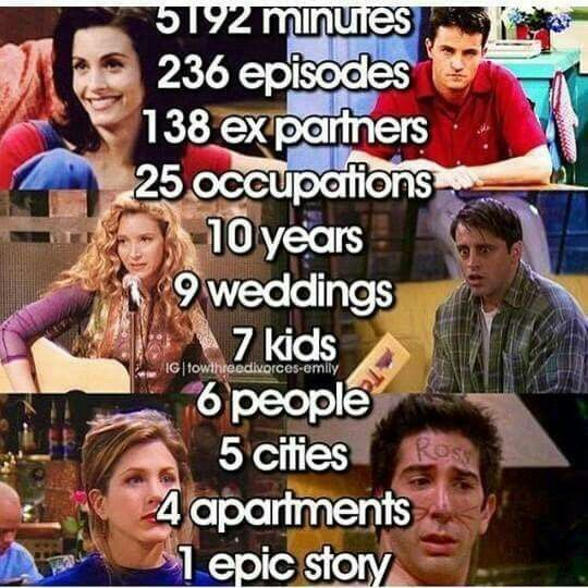 I have watched each episode 5 times a year since I was 15!! That's alot of time invested
