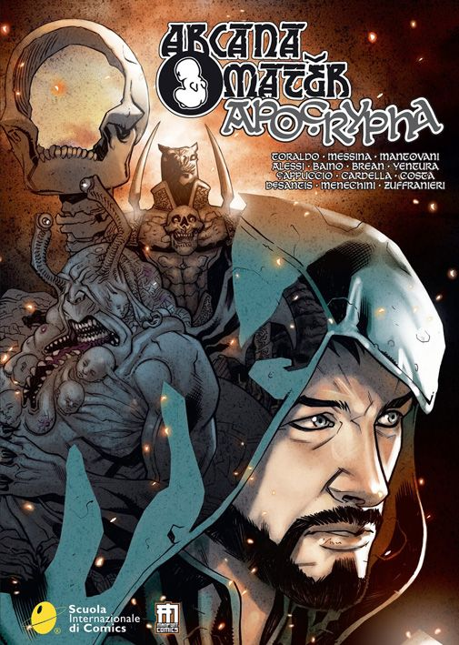 """Arcana Mater: Apocrypha"", ManFont Comics. Alessi: story http://www.manfont.com/prodotto/arcana-mater-apocrypha/"