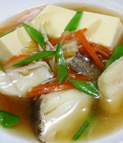 鱈(タラ)と豆腐の中華風煮込み by syu♪さん   レシピブログ - 料理 ...