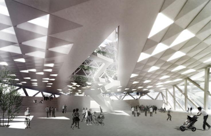Kjellander + Sjöberg Architects - Snäckan 8 - View of the square