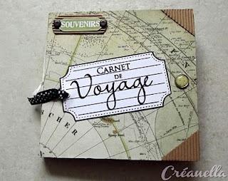 Album carnet de voyage