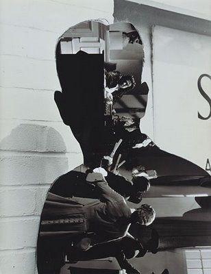 John Stezaker collage  Двойная экспозиция, сложная конструкция образов, c определенным контекстом