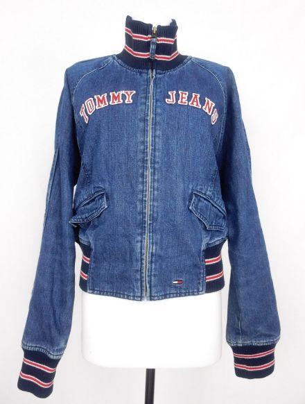 Vintage Tommy Hilfiger Denim Padded Jacket