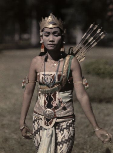 A wayang princess portrays emotions with the positions of her arms. W. ROBERT MOORE/National Geographic Creative