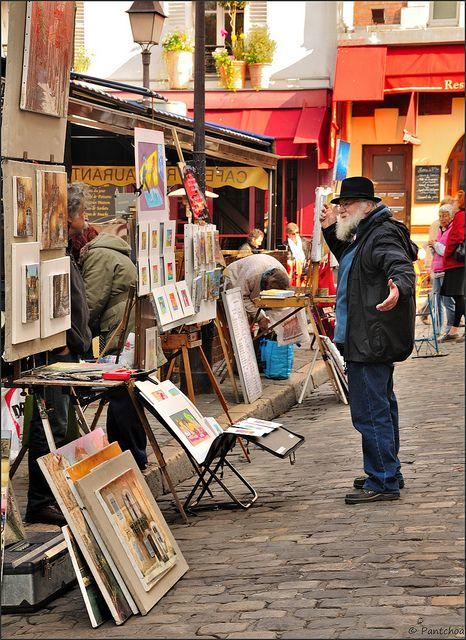 Paris Montmartre : Place du Tertre painters