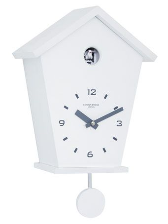 CUCKOO CHIMING PENDULUM WALL CLOCK