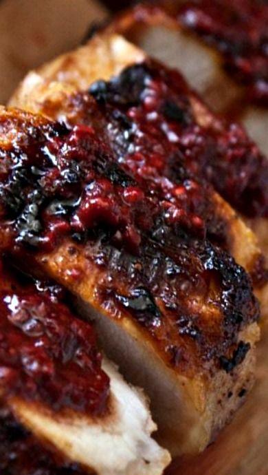 Pork Tenderloin with Cranberry-Raspberry Sauce | Favorite ...