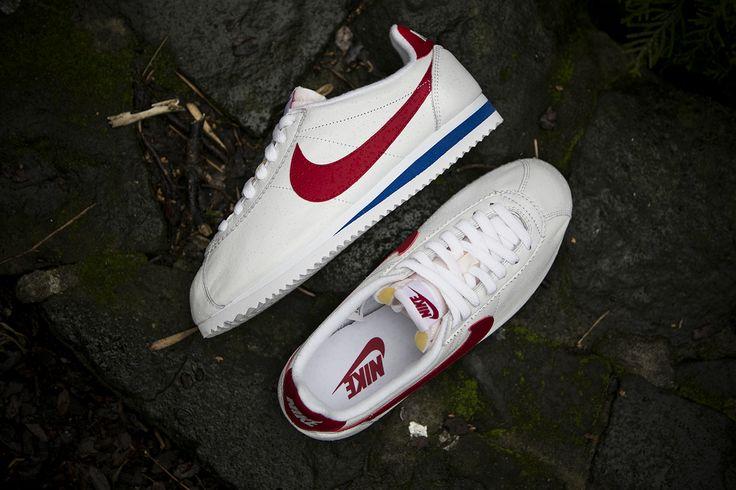 "Nike Classic Cortez Premium QS ""Forrest Gump"" (724262-184) sklep: http://goo.gl/4QWxxA"