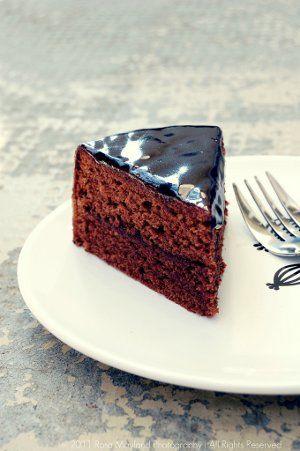 tarta Sacher, receta fácil y muy sabrosa