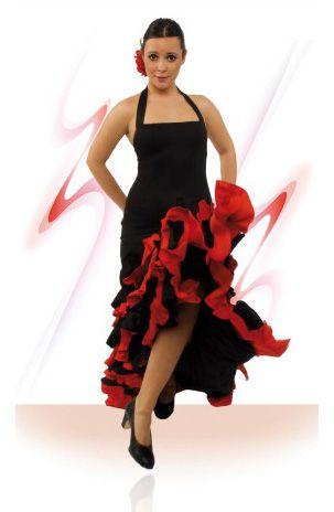 Robe de danse flamenco ref.E4393PS13PS10, Robes pour la danse flamenco