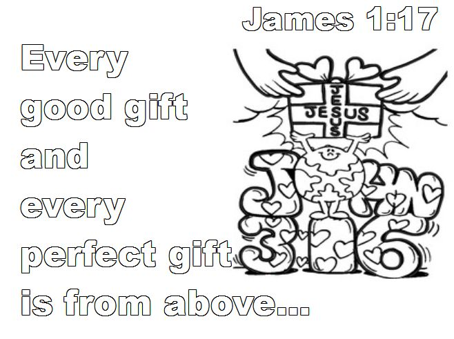 James 117 Master Clubs Lookouts Bible Verse Coloring Page John 316 Designed