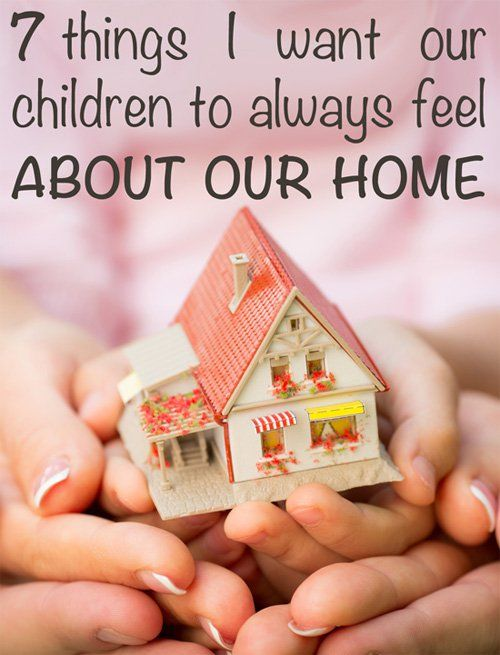 The place you call home will leave an indelible imprint on your childrens' sense of self, forming an important part of who they are and how they live life. What do your children see and feel when they look about your home, the place in which they live and grow? Here are 7 things I want my children to know about their home.