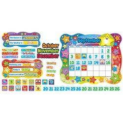 Star Calendar Bulletin Board Set, T-8194