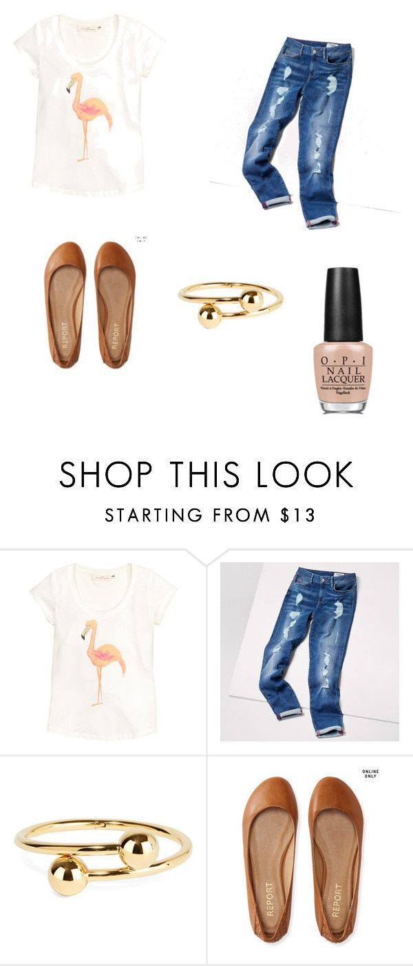 Untitled #17 by leenapod on Polyvore featuring Tommy Hilfiger, Aéropostale, J.W. Anderson, OPI and H&M
