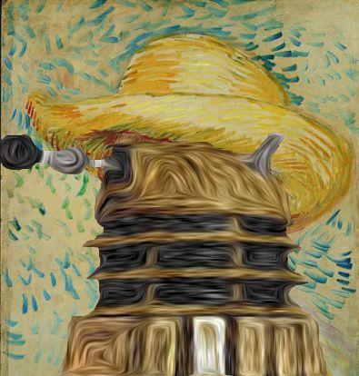 Vincent Van Dalek    http://imgur.com/FhbiK: Vincent Of Onofrio, Vincent Vans, Vans Dalek, Gogh Dalek, Dalek Vans, Doctors Who Vans Gogh, Van Gogh, Dalek Gogh, Gallifrey Geekeri