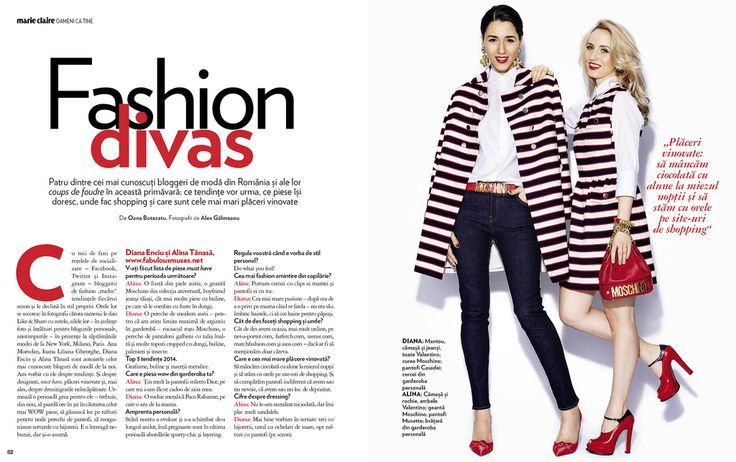 Fashion Divas in Marie Claire (Absolutely Fabulous ...