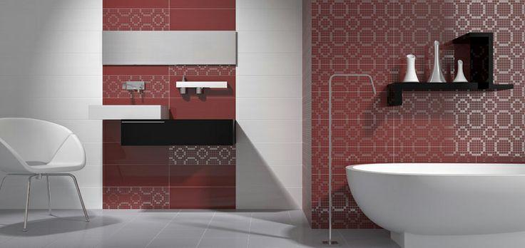 Pamesa Mood Rojo http://keramida.com.ua/bathroom/spain/1896-pamesa-mood-rojo