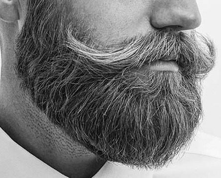 tidy facial hair