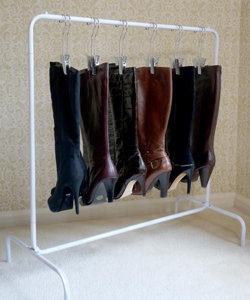 Perfect Free Coat And Boot Rack Image: 33 Best Images About Glam Organization On Pinterest