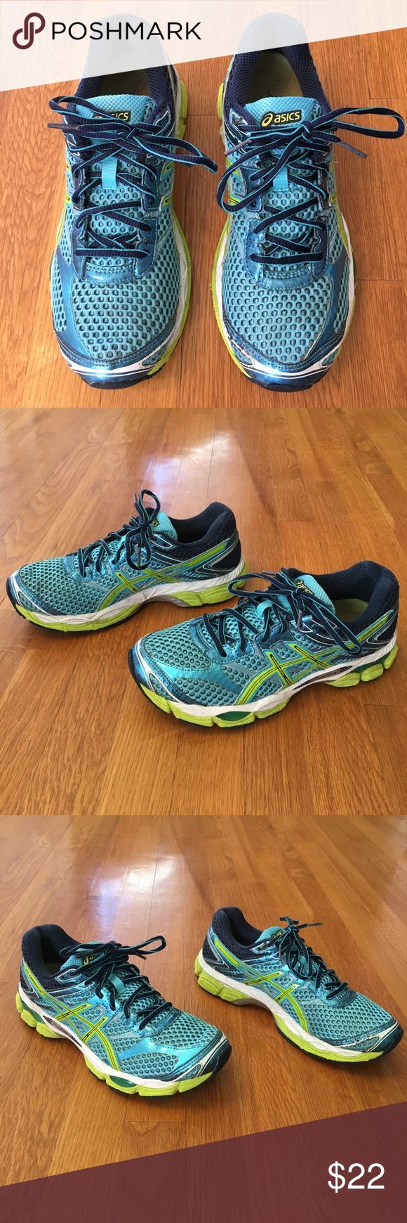 Asics Gel Cumulus 16 Size 8.5 Asics Gel Cumulus 16 Size 8.5. Very good used condition. Please see the pictures for accurate signs of wear. Super lightweight! Asics Shoes Athletic Shoes