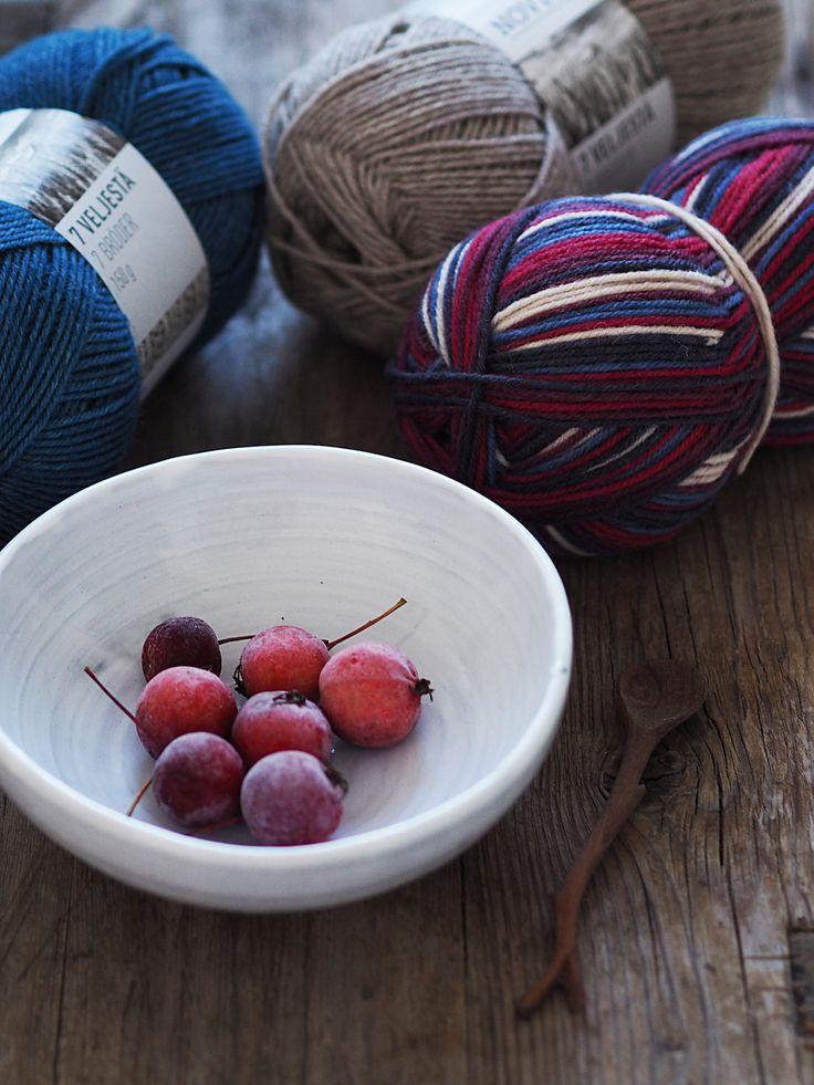 Novita Autumn/Winter 2017, Novita 7 Brothers yarn #novitaknits #knitting #knits https://www.novitaknits.com/en