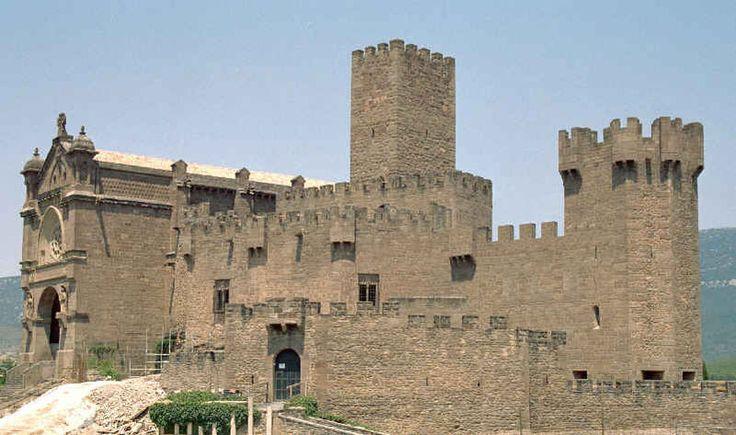España Navarra Castillo de Javier