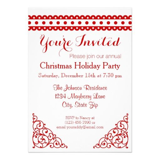 37 best images about Christmas Party Invitations – Holiday Party Email Invitations