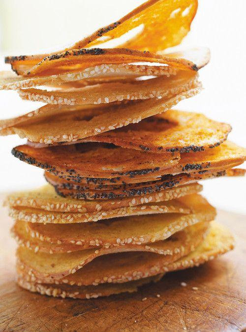 Chips de bagel Recettes | Ricardo