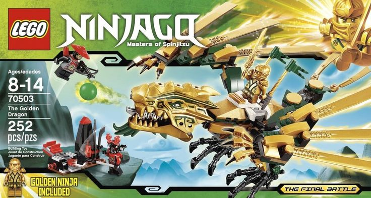 LEGO Ninjago The Golden Dragon 70503 LEGO Ninjago Masters Of Spinjitzu Lego Sets #LEGO