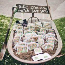 Plant je huwelijksbedankje
