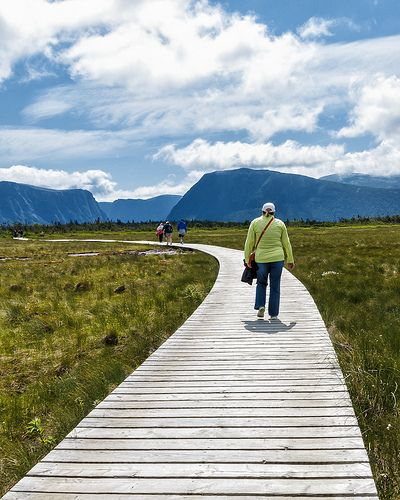 Newfoundland  - Hiking into Gros Morne National Park