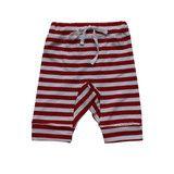 Weekend Stripe pant - Red/White stripe