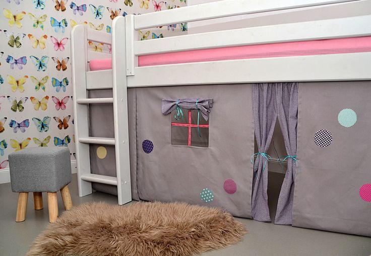 die besten 25 hochbett vorhang ideen auf pinterest. Black Bedroom Furniture Sets. Home Design Ideas