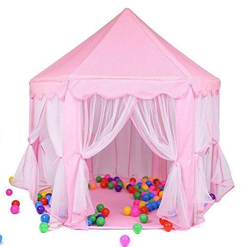 Enfants Princesse Pop Up Chateau GIM Tente de Jeu pour Enfants pour ...