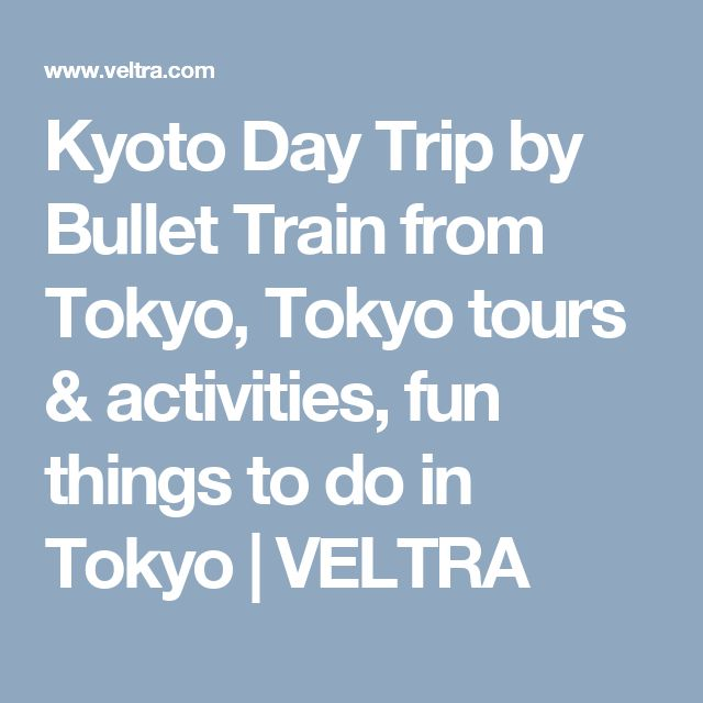 Kyoto Day Trip by Bullet Train from Tokyo, Tokyo tours & activities, fun things to do in Tokyo | VELTRA