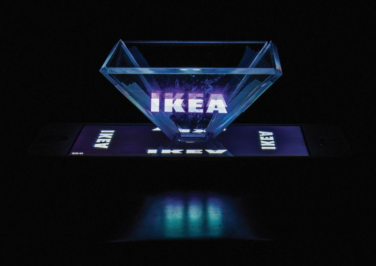 Holographic IKEA Interactive Instruction Manuals on Behance