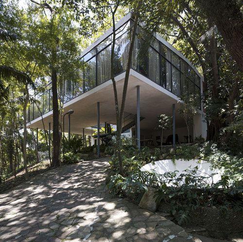 Casa de Vidro, Lina Bo Bardi. São Paulo, Brazil, 1951.